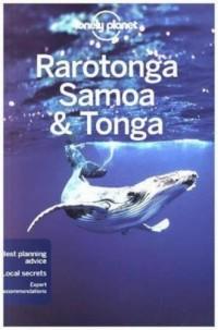 Lonely Planet. Rarotonga Samoa & Tonga - okładka książki