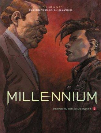 Millenium. Tom 2. Dziewczyna która - okładka książki