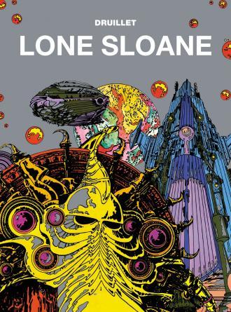 Mistrzowie komiksu. Lone Sloane - okładka książki