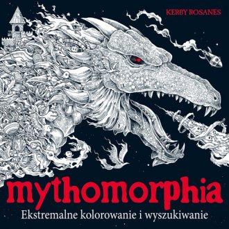 Mythomorphia. Ekstremalne kolorowanie - okładka książki
