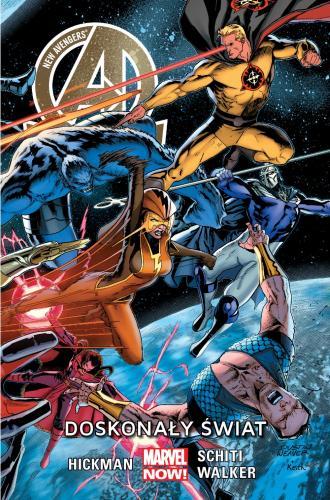 New Avengers. Tom 4. Doskonały - okładka książki