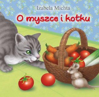 O myszce i kotku - okładka książki