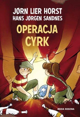 Operacja cyrk - okładka książki