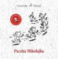 Paczka Mikołajka - okładka książki