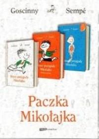 Paczka Mikołajka. PAKIET 3 KSIĄŻEK - okładka książki