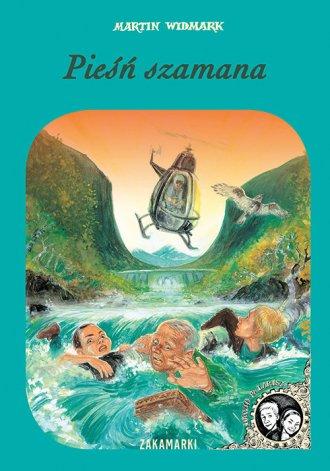 Pieśń szamana - okładka książki