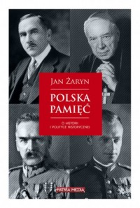 Polska pamięć - Jan Żaryn - okładka książki