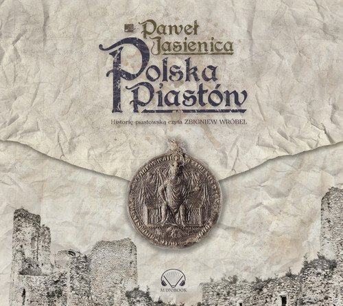 Polska Piastów - pudełko audiobooku
