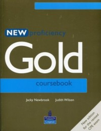 Proficiency Gold New Coursebook - okładka podręcznika