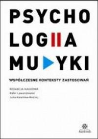 Psychologia muzyki. Współczesne - okładka książki