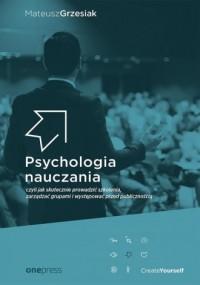 Psychologia nauczania czyli jak - okładka książki