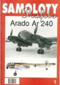 Arado Ar 240. Samoloty Profile 1 - okładka książki