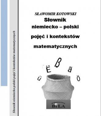 Słownik niemiecko-polski pojęć - okładka książki