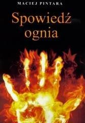 Spowiedź ognia - okładka książki