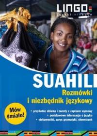 Suahili. Rozmówki i niezbędnik - okładka podręcznika