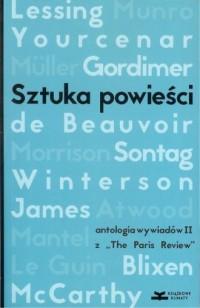 Sztuka powieści. Antologia wywiadów II z The Paris Review - okładka książki