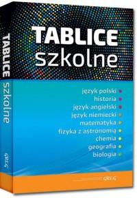 Tablice szkolne - okładka podręcznika