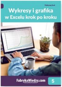 Wykresy i grafika w Excelu krok - okładka książki