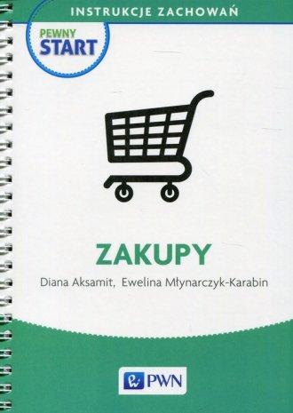 Zakupy. Pewny start. Instrukcje - okładka podręcznika