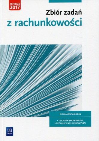 Zbiór zadań z rachunkowości Kwalifikacja - okładka podręcznika
