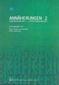 Annäherungen 2 Sprachwissenschaft - Literaturwissenschaft - okładka książki