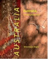 Australia czerwony kontynent - okładka książki