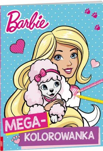 Barbie Mega Kolorowanka Ameet Księgarnia Internetowa Poczytajpl