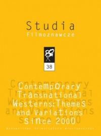Studia Filmoznawcze 38. Contemporary - okładka książki