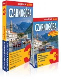 Czarnogóra explore! guide. 3w1: - okładka książki