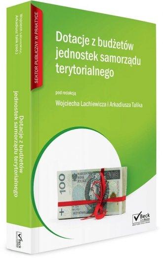 Dotacje z budżetów jednostek samorządu - okładka książki