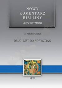 Drugi List do Koryntian.  Nowy - okładka książki