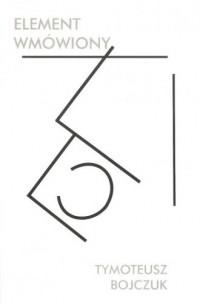 Element wmówiony - okładka książki