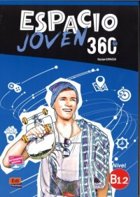 Espacio Joven 360 B1.2. Podręcznik - okładka podręcznika