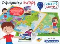 Gra odkrywamy Europę - Wydawnictwo - zdjęcie zabawki, gry