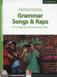 Grammar Songs and Raps Teachers Book +2CDs (2) - okładka podręcznika
