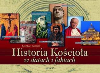 Historia Kościoła w datach i faktach - okładka książki