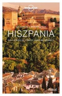Hiszpania Lonely Planet - Wydawnictwo - okładka książki