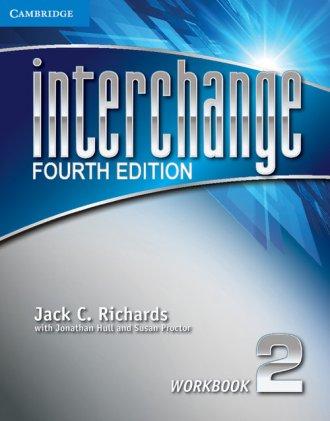 Interchange 2. Workbook - okładka podręcznika