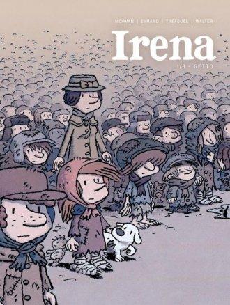 Irena 1/3 - Getto - okładka książki
