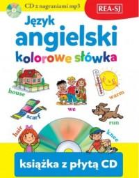 Język angielski - kolorowe słówka - okładka podręcznika