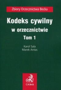 Kodeks cywilny w orzecznictwie. - okładka książki