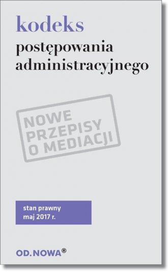 Kodeks postępowania administracyjnego - okładka książki