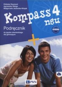 Kompass 4 neu. Gimnazjum. Podręcznik - okładka podręcznika