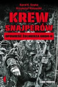 Krew snajperów. Opowieść żołnierza - okładka książki