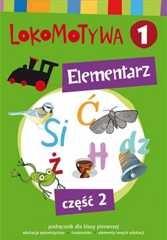 Lokomotywa 1 Elementarz cz. 2. - okładka podręcznika