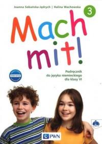 Mach mit 3. Podręcznik. Szkoła podstawowa - okładka książki