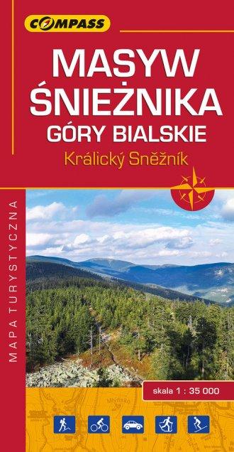 Masyw Śnieżnika, Góry Bialskie, - okładka książki