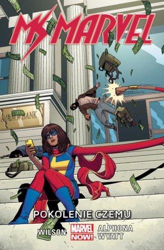 Ms Marvel. Tom 2. Pokolenie Czemu - okładka książki