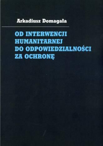 Od interwencji humanitarnej do - okładka książki