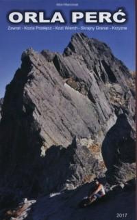 Orla Perć 1:2860. Zawrat Kozia Przełęcz Kozi Wierch Skrajny Granat Krzyżne - okładka książki